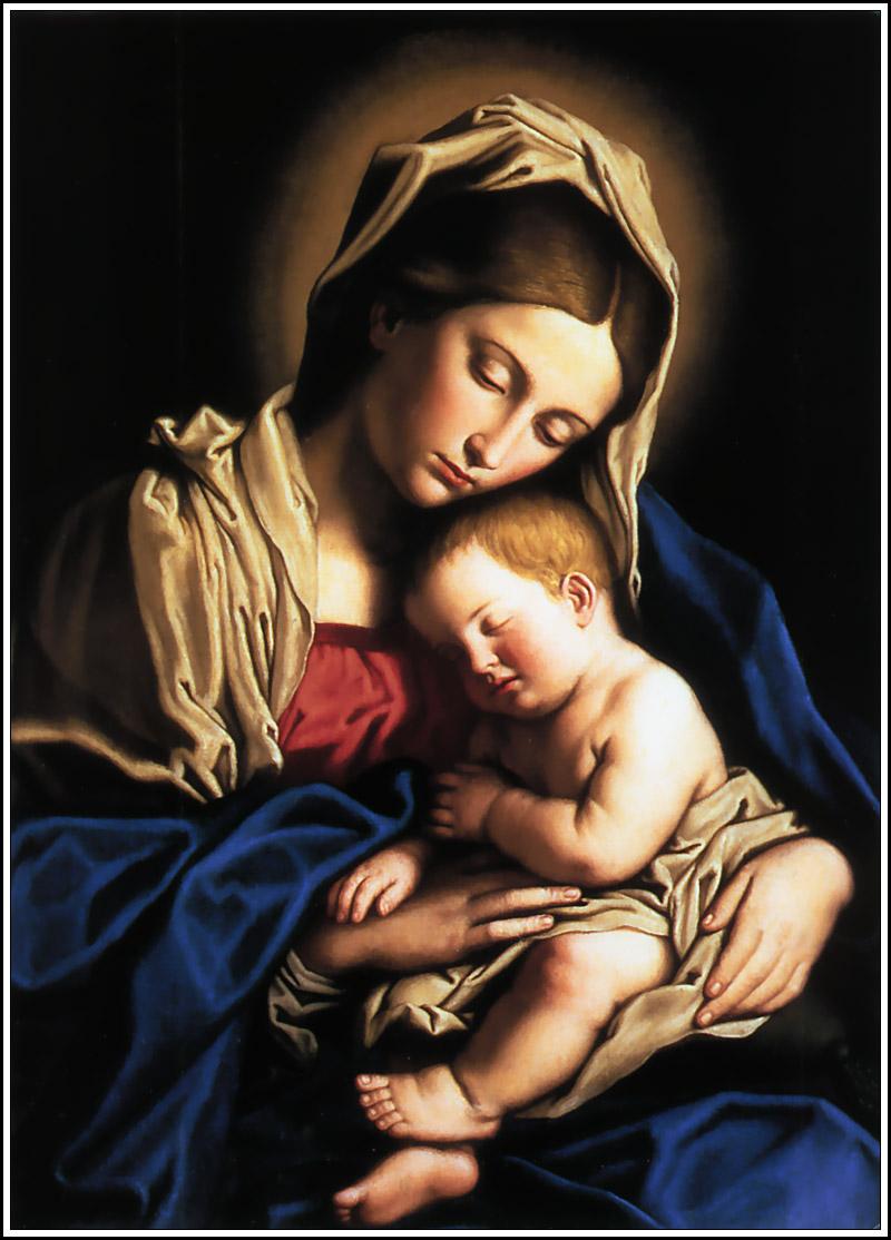 APIndex244 OrazioGentileschi 1565 1647 MadonnaAndChild je Om horan och madonnan (del 1 av 2)